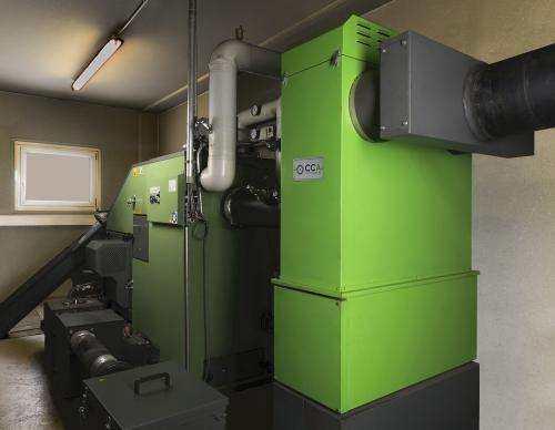 Towards dust-free wood combustion