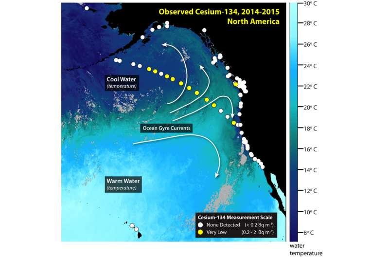Trace amounts of fukushima radioactivity detected along shoreline of British Columbia