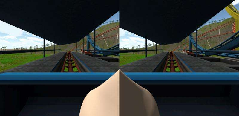 Turns out the answer to virtual reality sickness is right in front of your face
