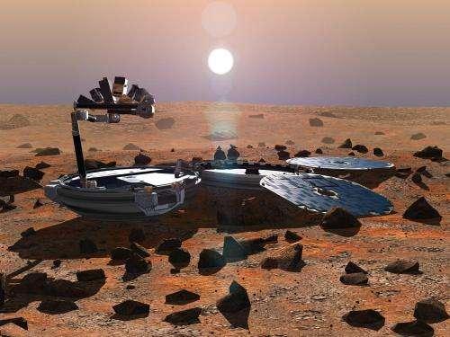 UA-led HiRISE camera spots long-lost space probe on Mars
