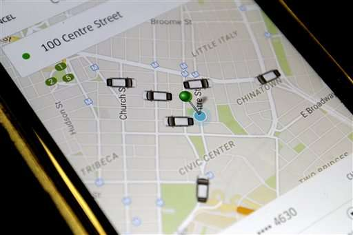 Uber's popularity surges; business travelers avoiding taxis