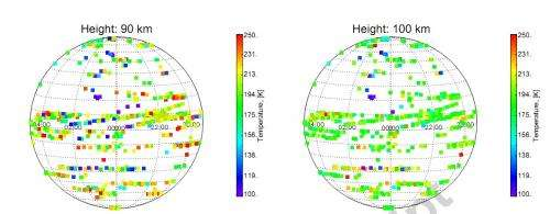 Unexplained warm layer discovered in Venus' atmosphere