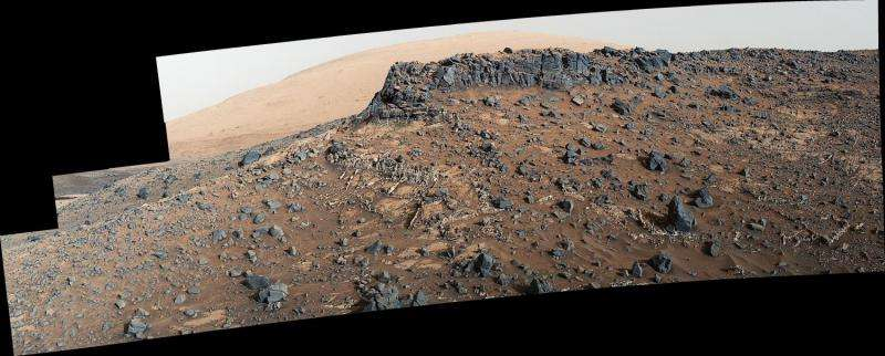 Upgrade helps NASA study mineral veins on Mars