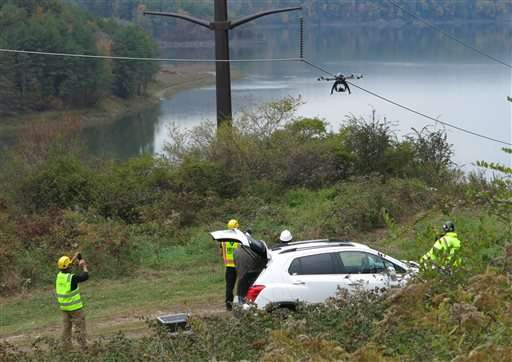 Utilities see potential in drones to inspect lines, towers