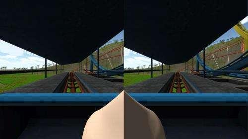 'Virtual nose' may reduce simulator sickness in video games