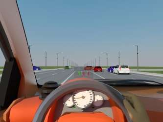 Virtual traffic lights as in-car systems go with the real road flow