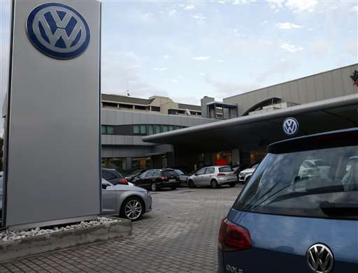 VW market share dips in Europe amid emissions scandal