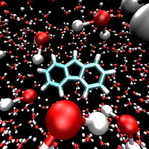Water ice renders short-lived molecule sustainable