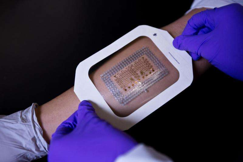 Wearable electronic health patches may now be cheaper and easier to make
