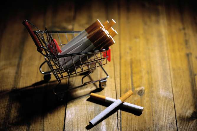 We've reduced demand for cigarettes, next step is to target the supply
