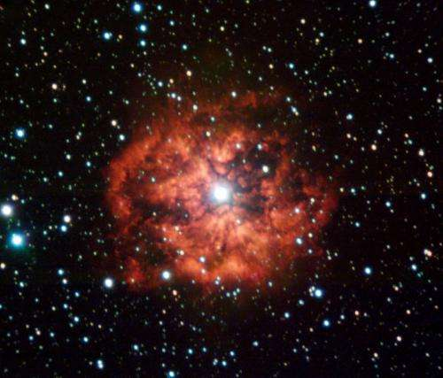 What is a Wolf-Rayet star?