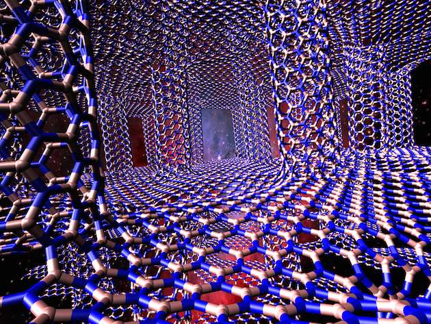 'White graphene' structures can take the heat