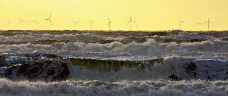 Wind energy provides 8% of Europe's electricity