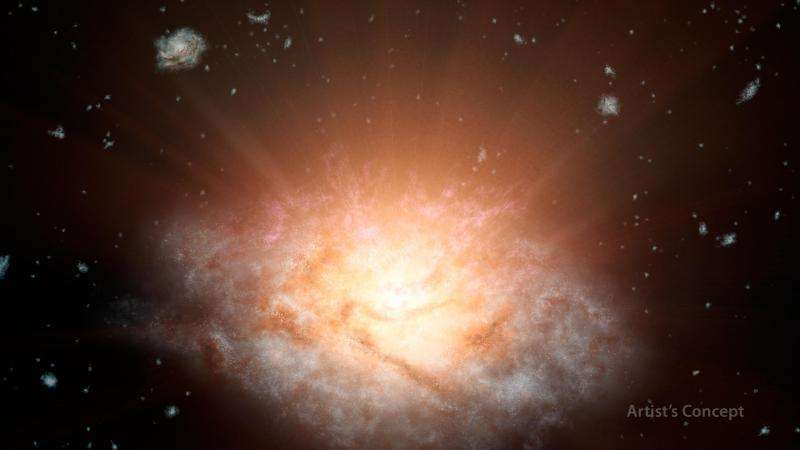 WISE spacecraft discovers most luminous galaxy in universe