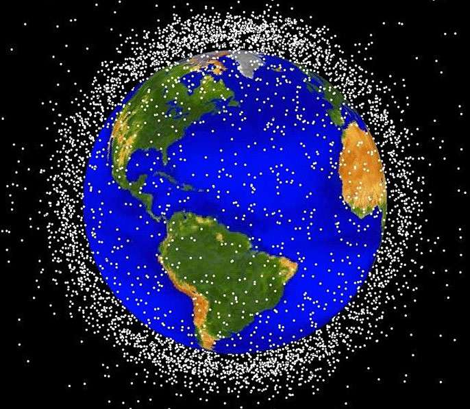 Zapping away space junk
