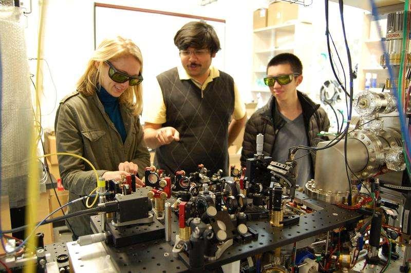 'Zeno effect' verified—atoms won't move while you watch