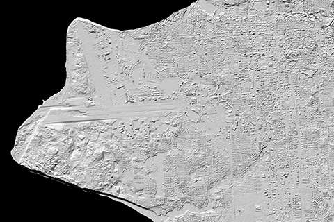 3-D elevation maps of Alaska for White House Arctic initiative