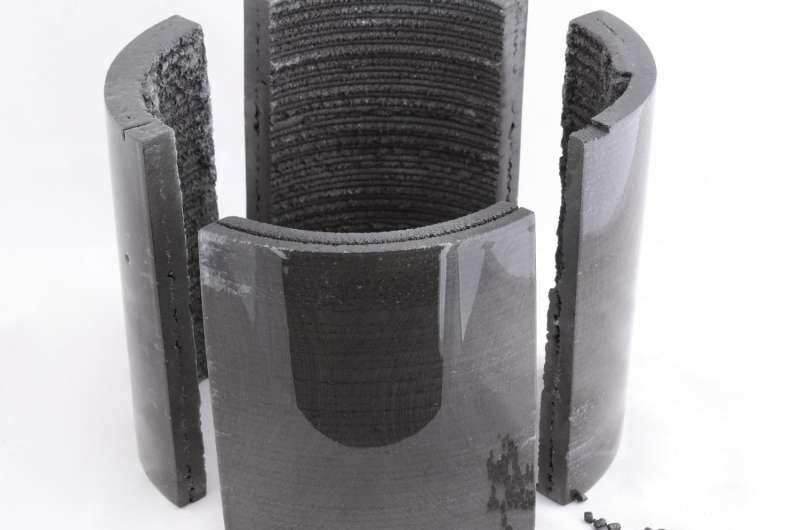 3-D-printed permanent magnets outperform conventional versions, conserve rare materials