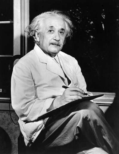 Albert Einstein (1879-1955), author of the theory of relativity, was awarded the Nobel Prize for Physics in 1921