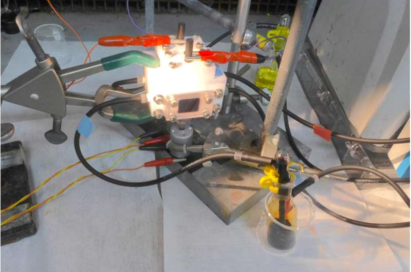 A marriage made in sunlight: Invention merges solar with liquid battery