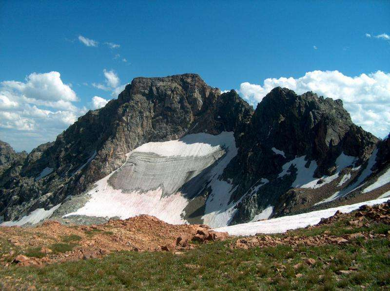 Ancient rocks of Tetons formed by continental collisions
