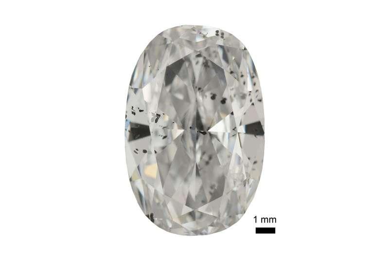 Biggest and best diamonds formed in deep mantle metallic liquid