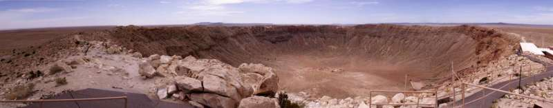 Cataclysm at Meteor Crater: Crystal sheds light on Earth, moon, Mars