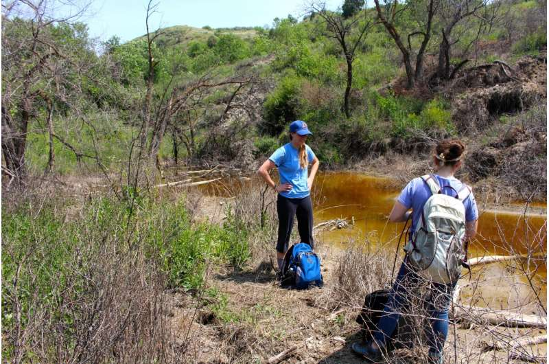 Contamination in North Dakota linked to fracking spills