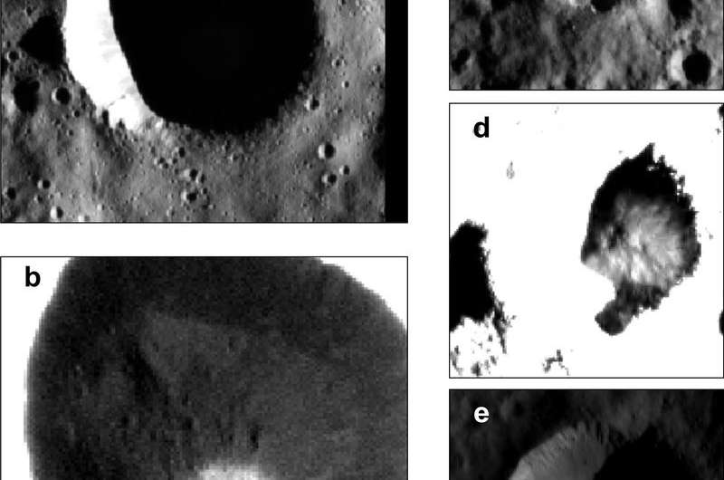 Dawn space probe discovers water ice in Ceres' polar region