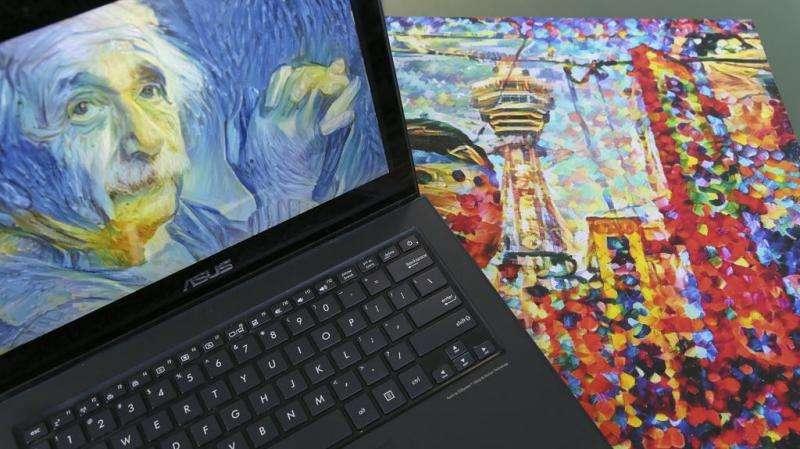 DeepArt, the computer that paints your portrait