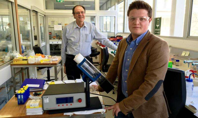 Egg unboiling machine used to speed up molecule development