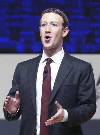 Facebook fixing fake news problem with CEO at trade summit