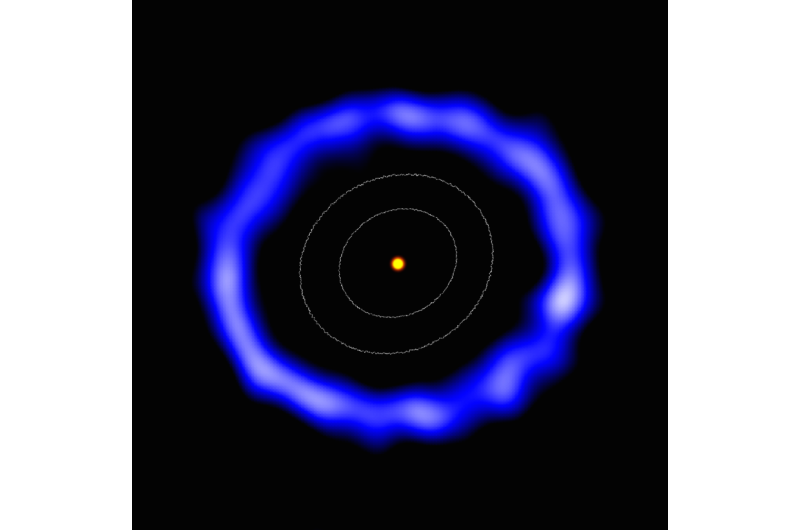 First evidence of icy comets orbiting a sun-like star