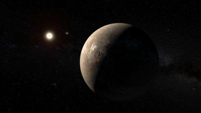 Giant radio telescope turns to new-found nearby planet