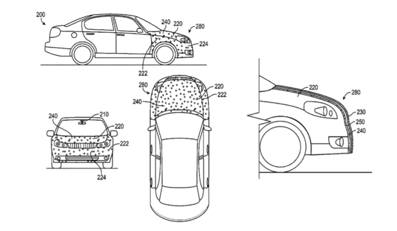 Google patent talk: How a sticky situation may protect a pedestrian
