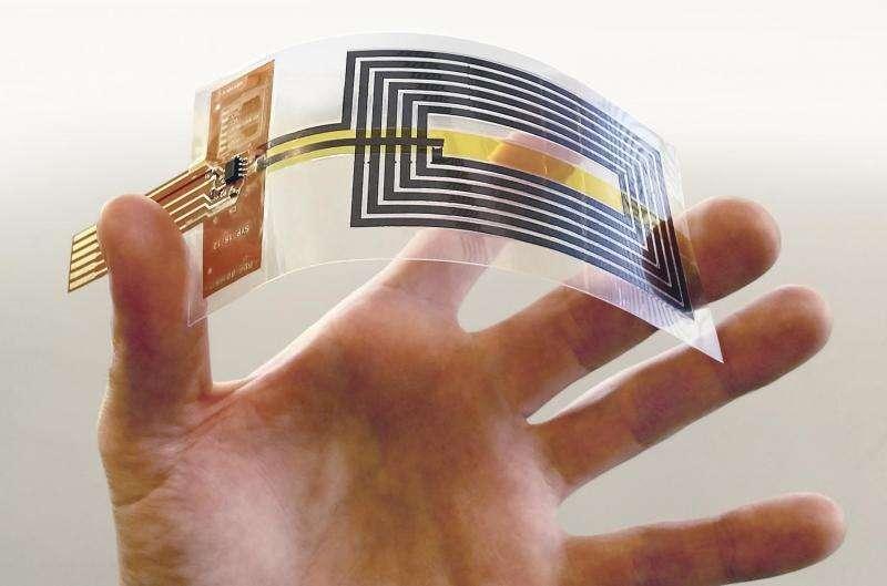 Graphene technology enables fully flexible NFC antennas