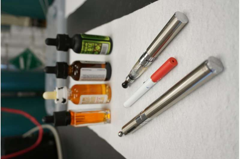 Hazardous chemicals discovered in flavored e-cigarette vapor