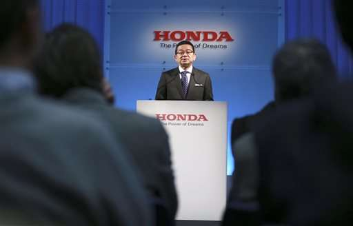 Honda plans no Takata rescue, bullish on green vehicles