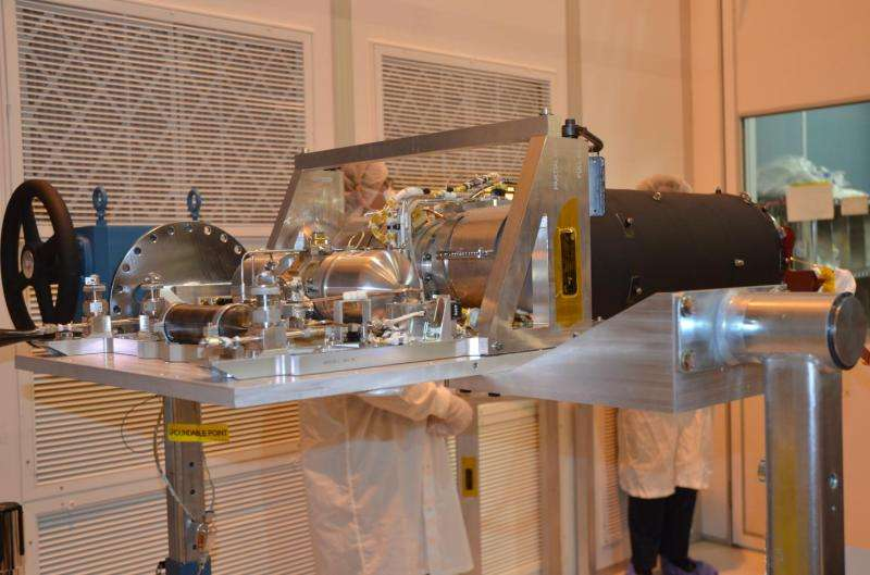 How cold can you go? Cooler tested for NASA telescope