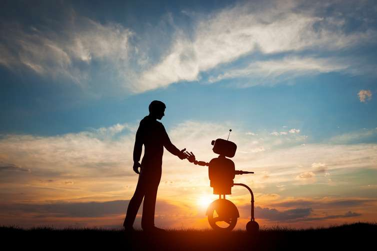 How cooperative behaviour could make artificial intelligence more human