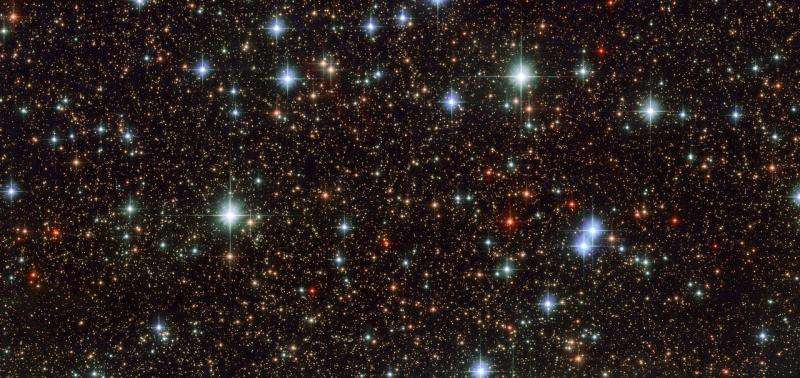 Image: Hubble gazes at stars of the Large Magellanic Cloud