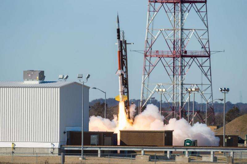 Image: MUSIC successfully launched from NASA Wallops