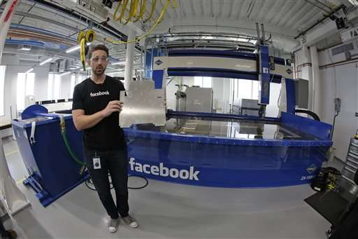 In a sign of broader ambitions, Facebook opens hardware lab
