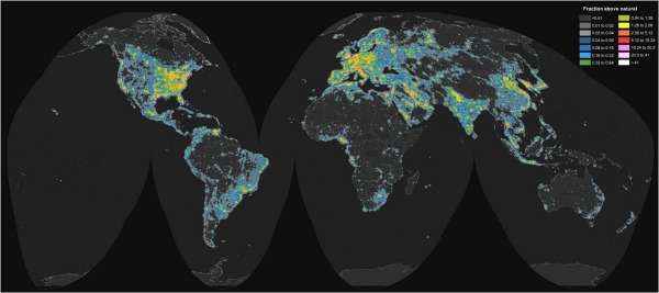 "Initiative to create ""dark sky parks"" by keeping areas free from artificial light"