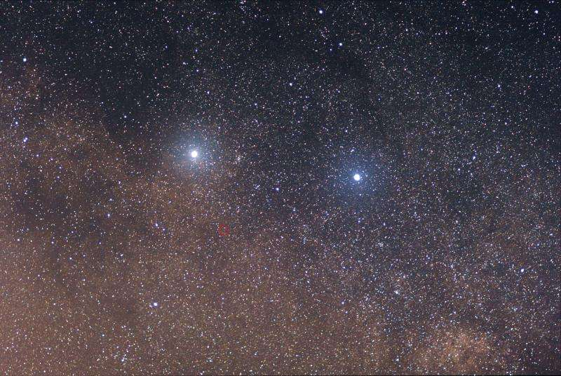 Is Alpha Centauri the right place to search for life elsewhere?