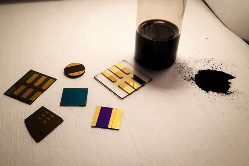 Making electronics out of coal