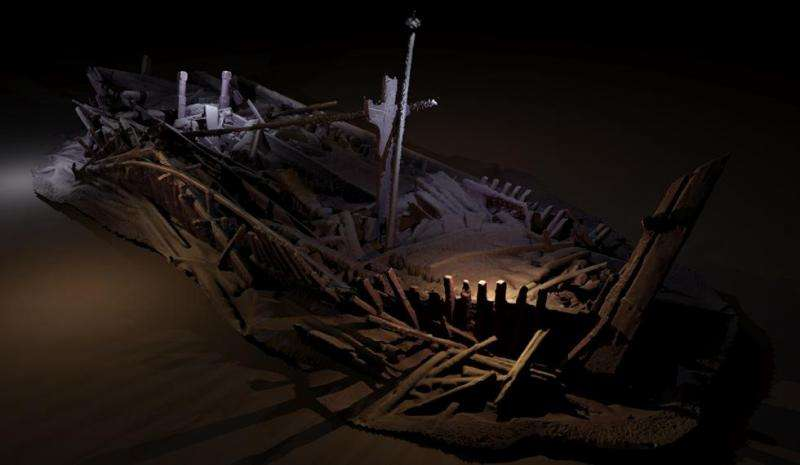 Maritime archaeology expedition in Black Sea