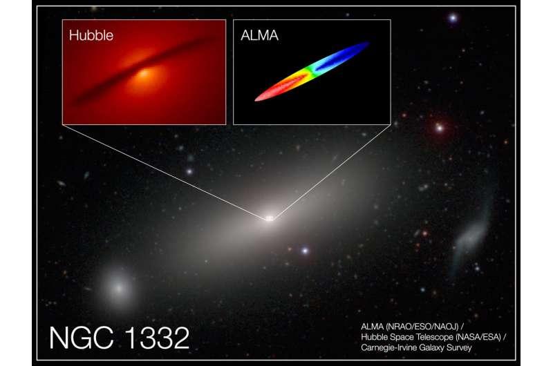 Measuring a black hole 660 million times as massive as our sun