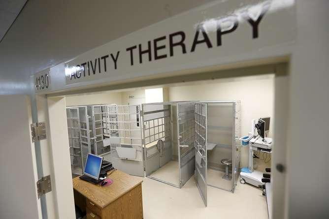 Mental health care for prisoners could prevent rearrest, but prisons aren't designed for rehabilitation