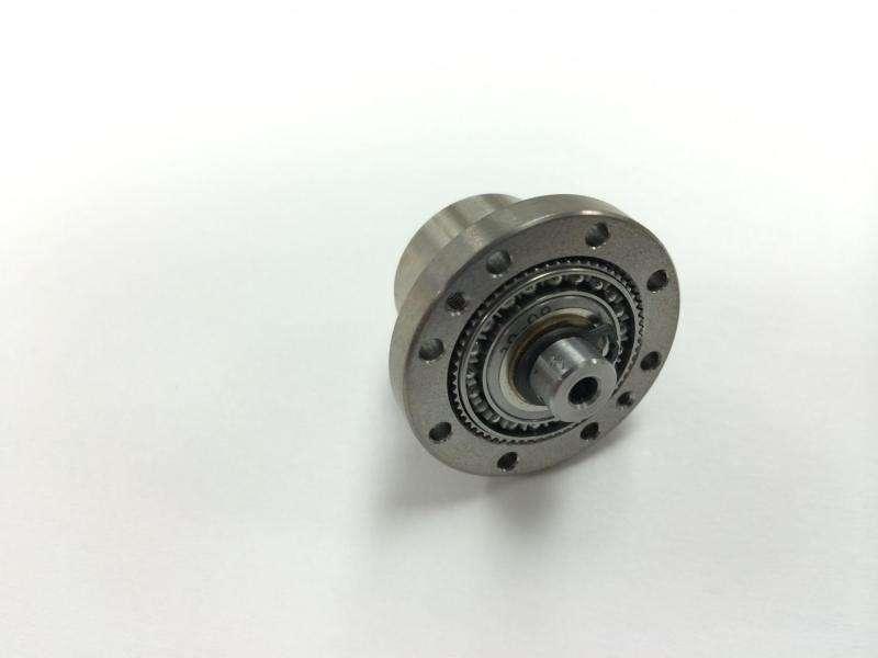 Metallic glass gears make for graceful robots